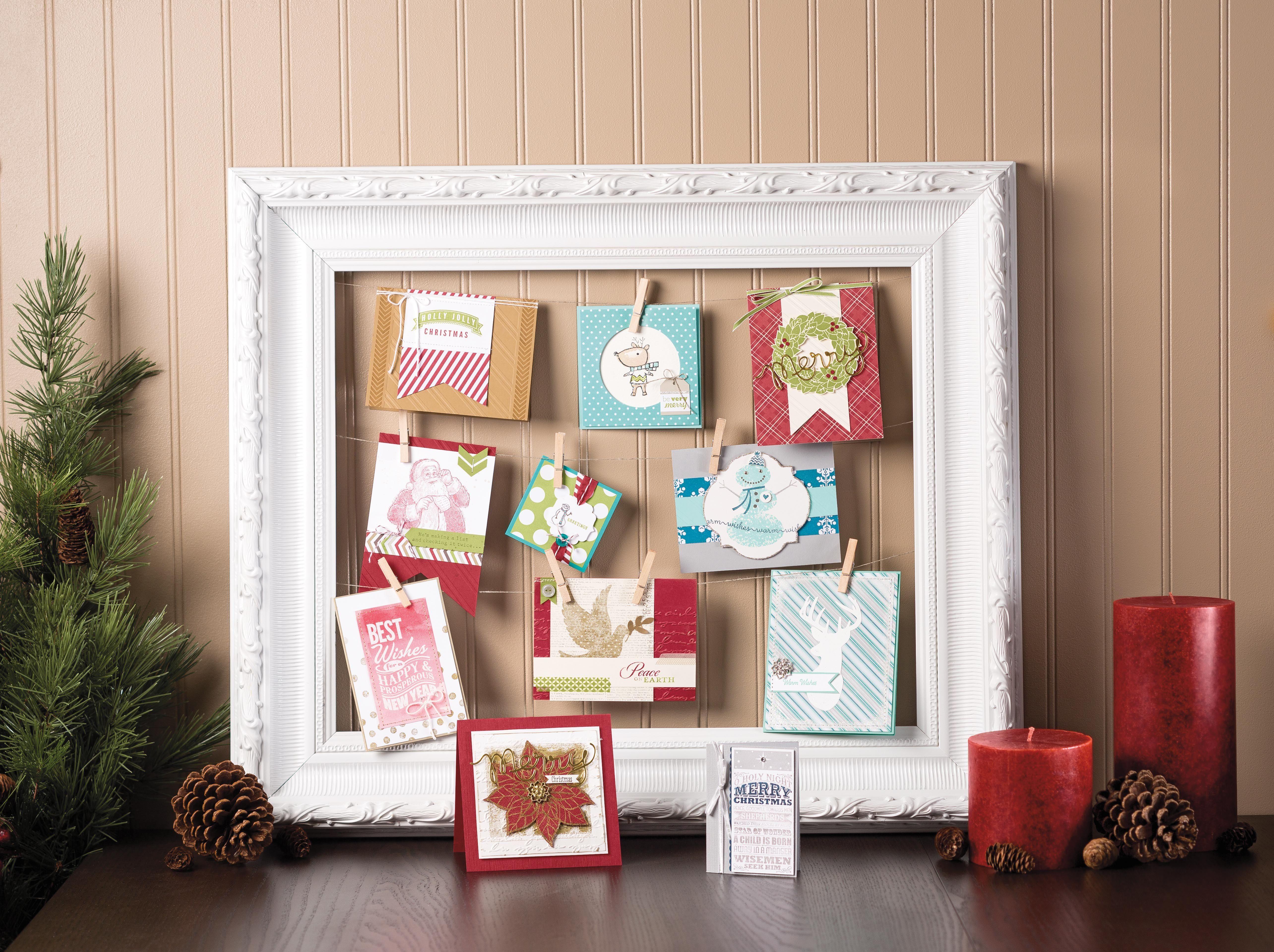 Weihnachtskarten stampinup weihnachten mit stampin 39 up pinterest weihnachtskarten - Amerikanische weihnachtskarten ...