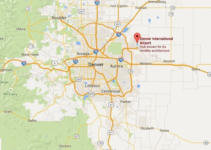 Deckers Colorado Map.Denver Colorado Airport Baggage Auctions Denver International