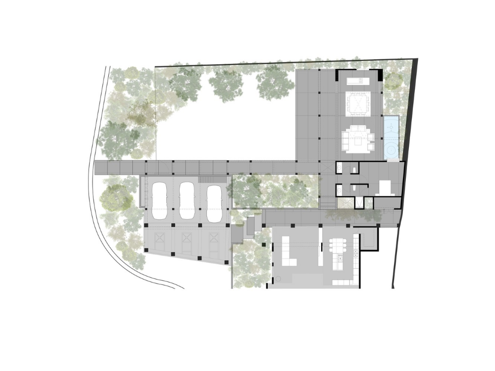 Gallery Of Three Garden House Tallerdea 13 Home Projects Architecture House Courtyard House