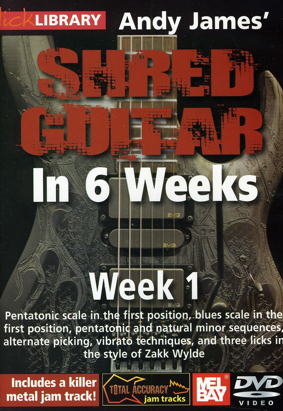 Lick Library: Andy James` Shred Guitar in 6 Weeks - Week 1