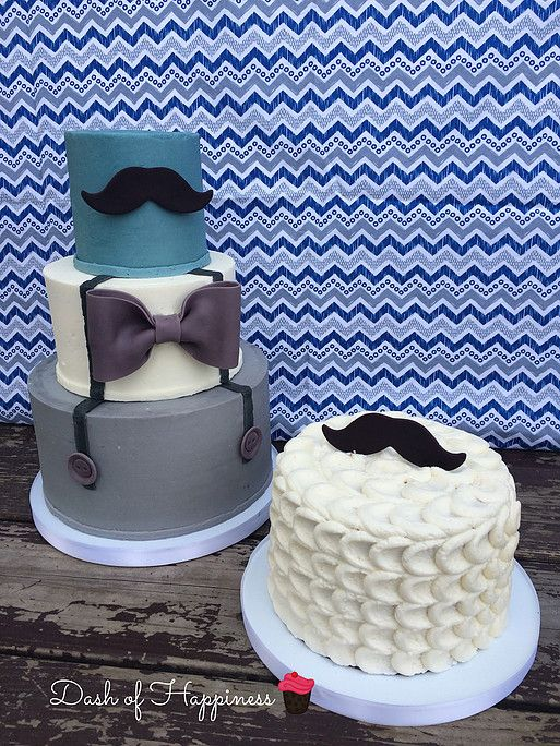 Excellent Dash Of Happiness Cakes Little Man Theme With Mustache Bow Tie Funny Birthday Cards Online Chimdamsfinfo