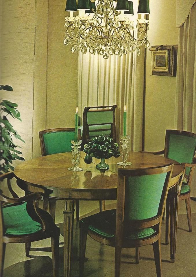 Vintage Home Decorating 1970s, Lighting