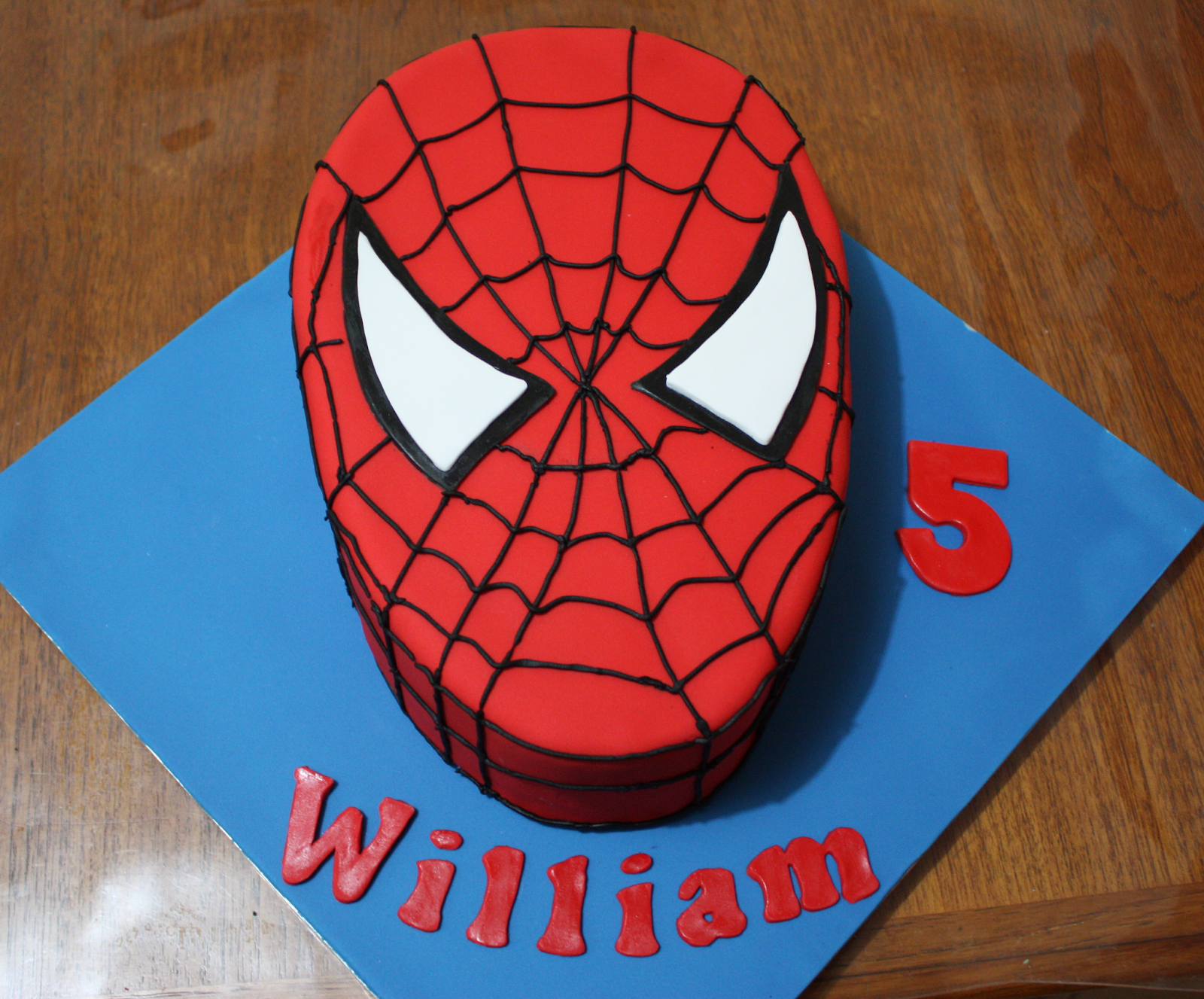 easy spiderman cake Google Search Food Pinterest Man cake