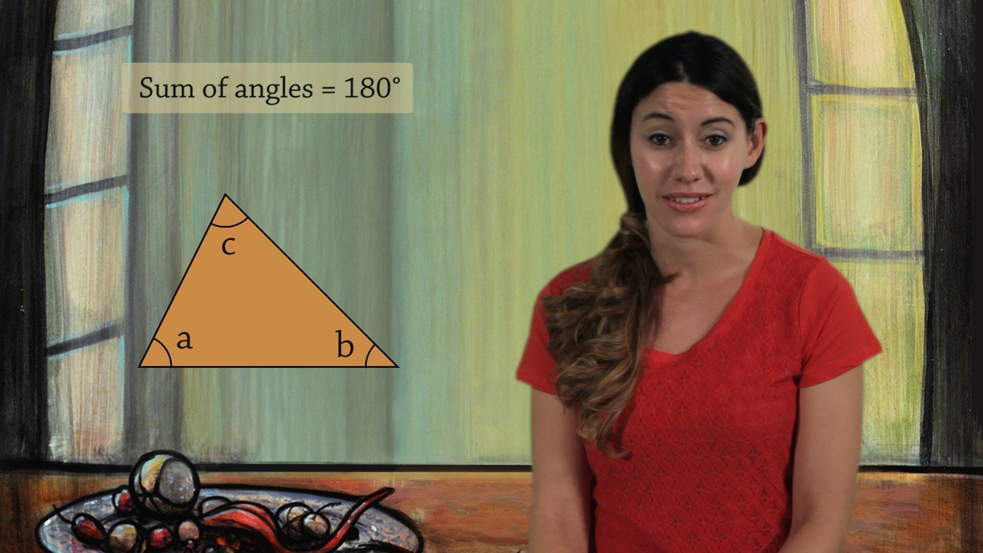 Sum Of The Angles In A Triangle