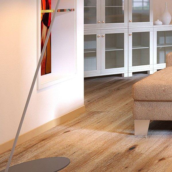 Wire Brushed Truffle White Oak Wood Flooring