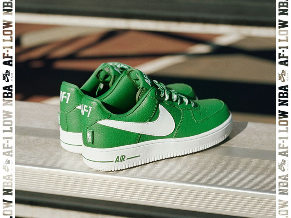 """Nike Air Force 1 Low """"Statement"""" – Neptune Green   White  fb49458e7"""