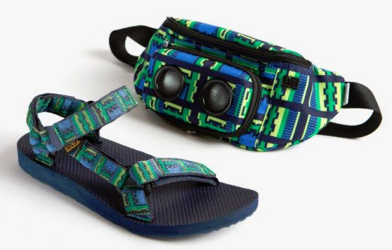 e83641584 Teva and JammyPack have collaborated for Teva sandals and JammyPack fanny  pack sets.