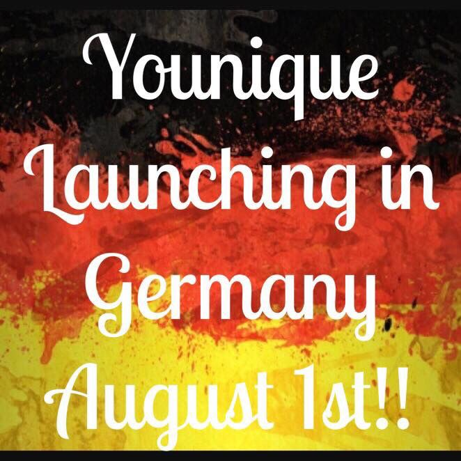 Younique Launches in Germany August 1st! Join my team !