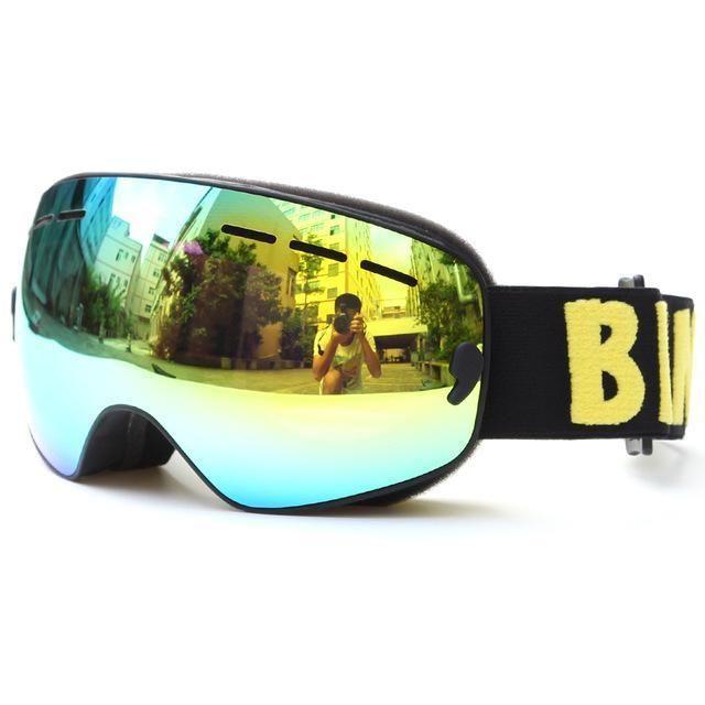 BE NICE Anti Fog Ski Snowboard Goggles - Kid's