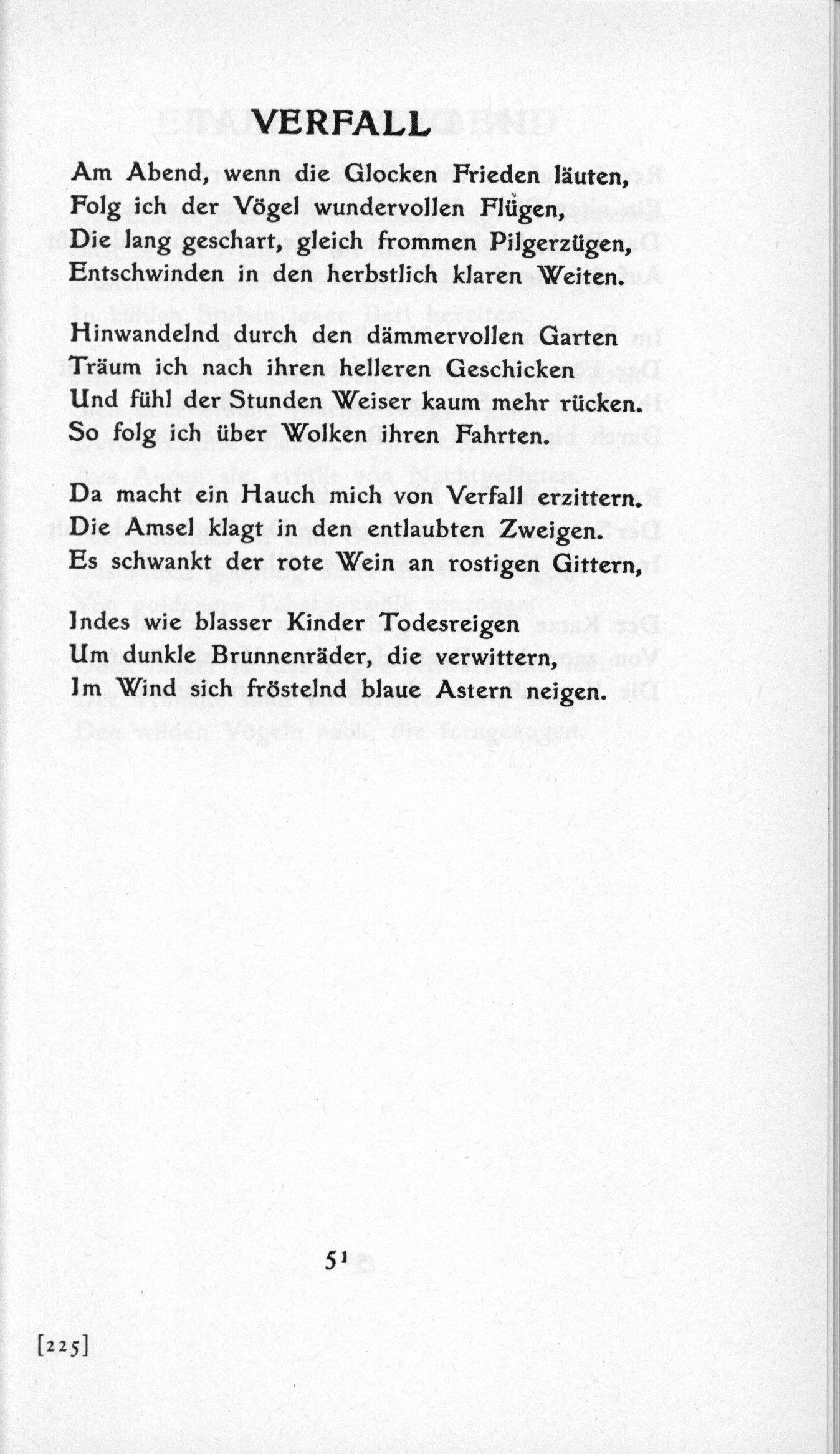 The Poems Of Georg Trakl Gedichte Georg Trakl Und