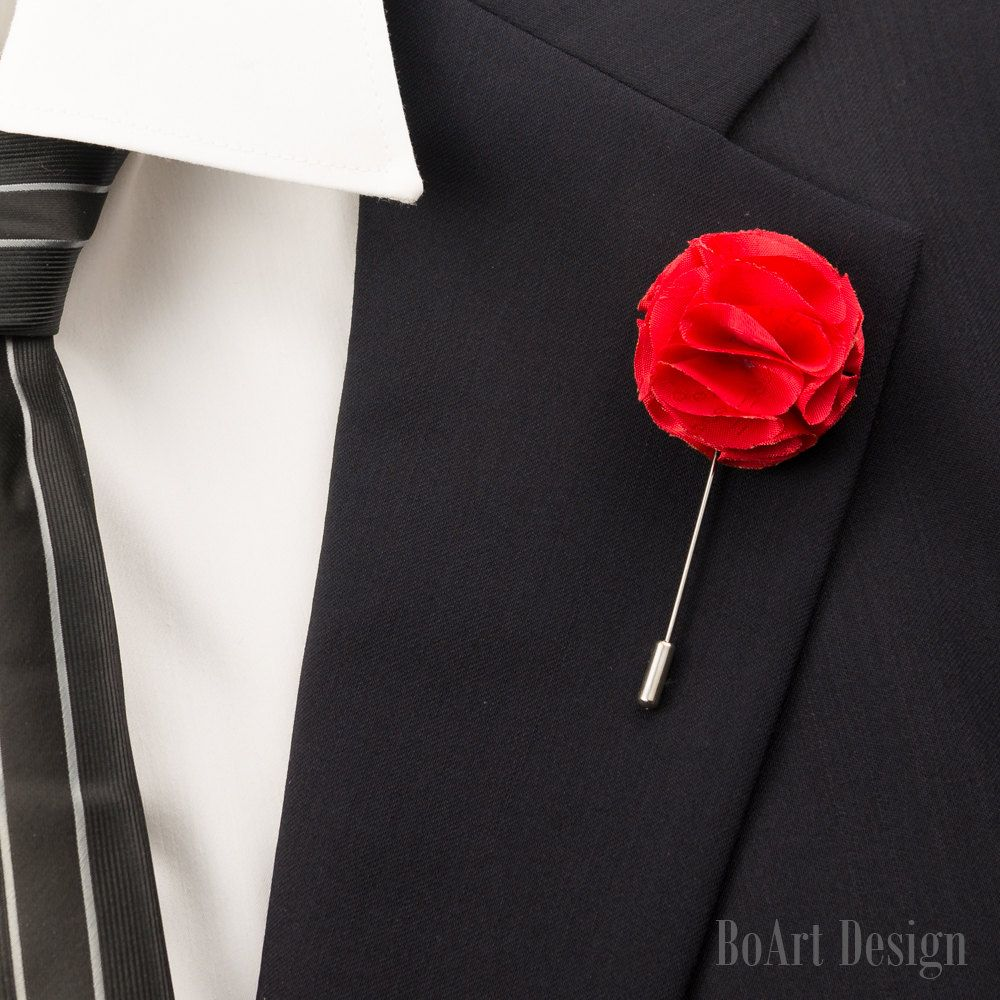 13++ What is red flower pin on lapel ideas in 2021
