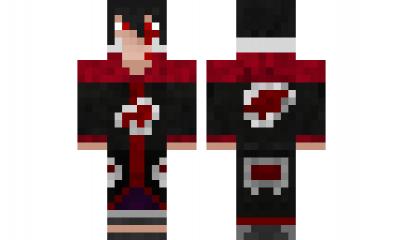 Minecraft Skin SasukeUchihaSusano Check Out Our YouTube Https - Skin para minecraft pe de sasuke