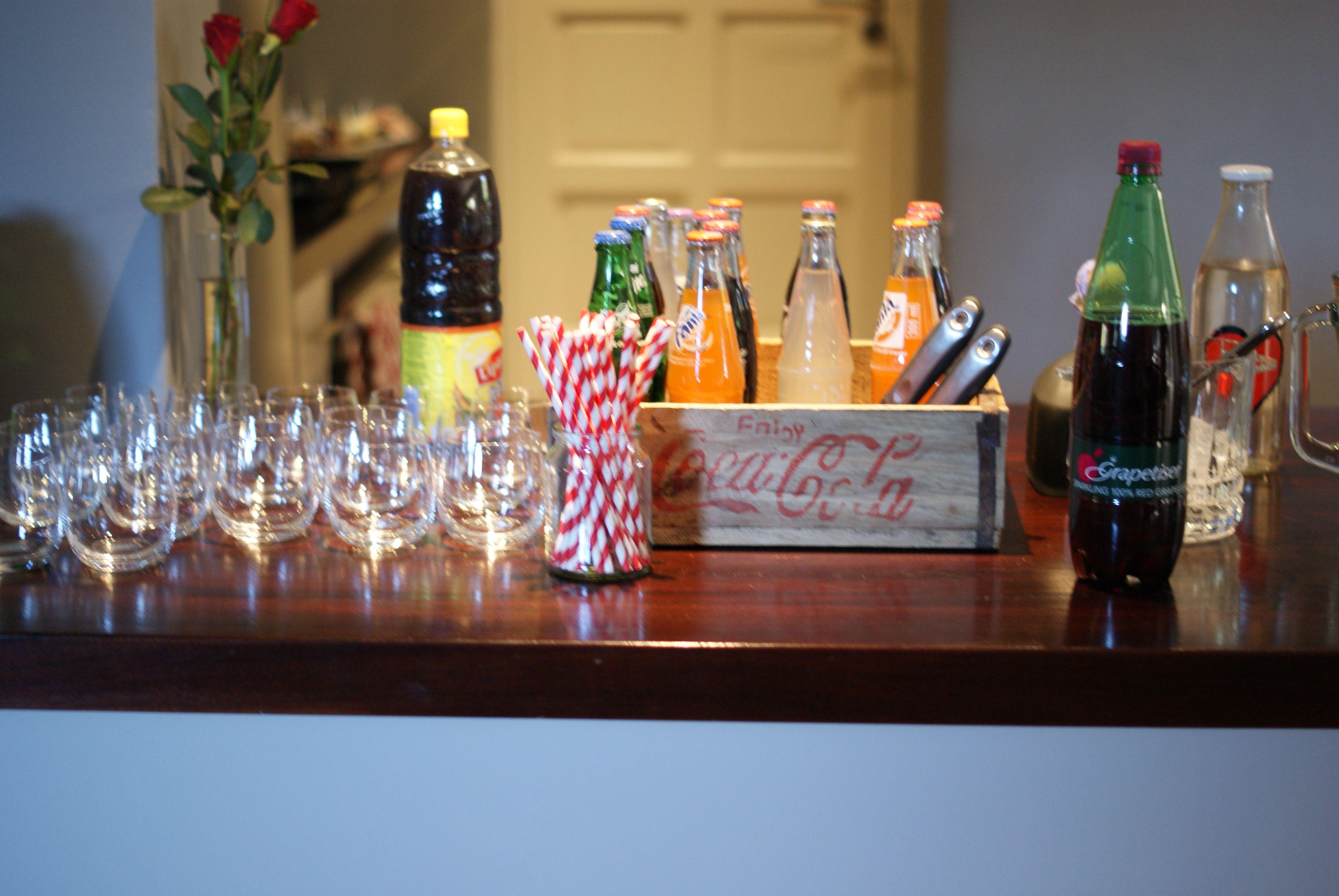 Soft drink bar