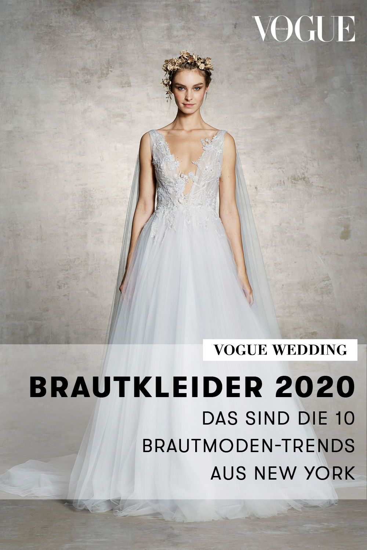 Brautkleider 10: Das sind die 10 Brautmoden-Trends aus New York