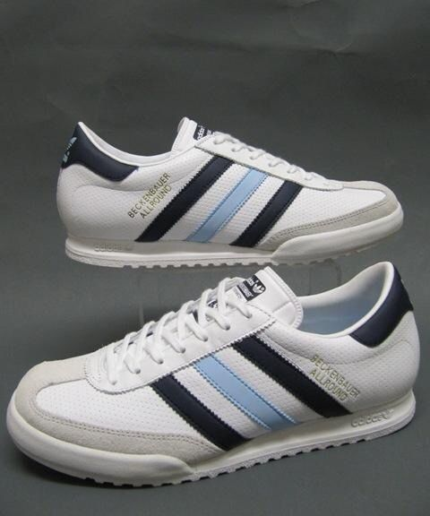adidas originals beckenbauer allround mens trainers white nz