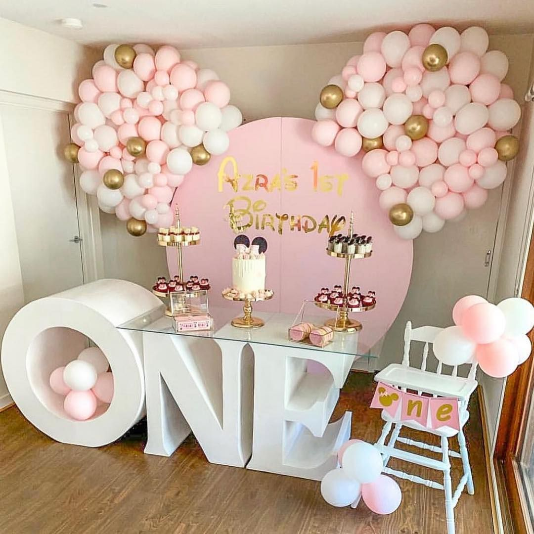 Best Party Ideas Featured On Minnie Mouse Party Decorations Minnie Mouse Birthday Theme Minnie Mouse Birthday Decorations