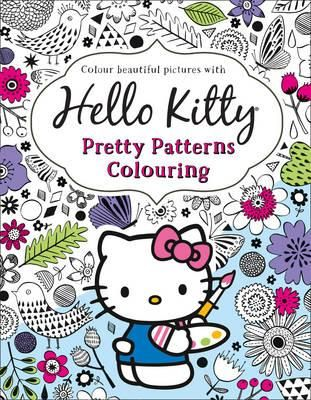 Hello Kitty Pretty Patterns Colouring Book