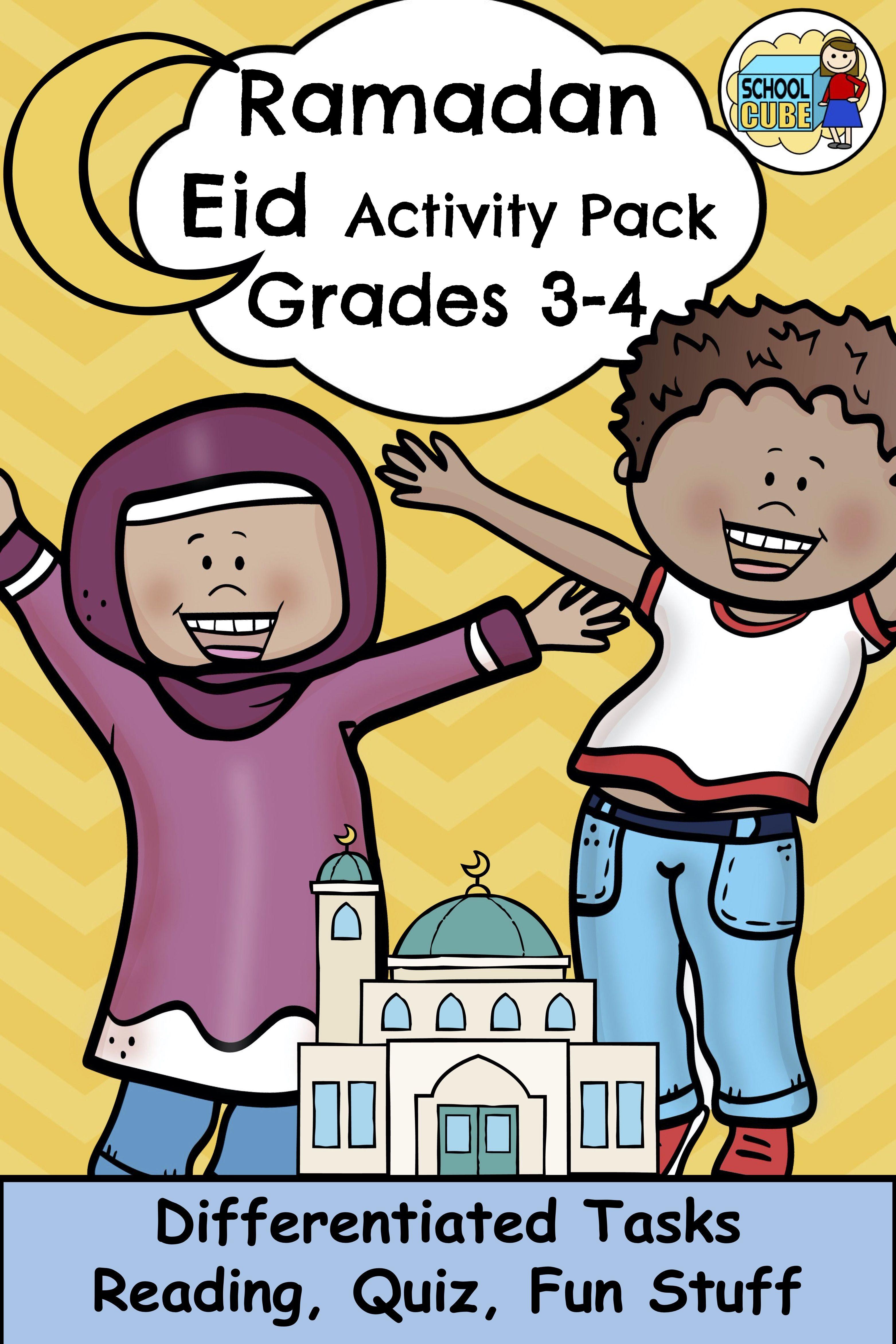 Ramadan Eid Activities Grades 3 4