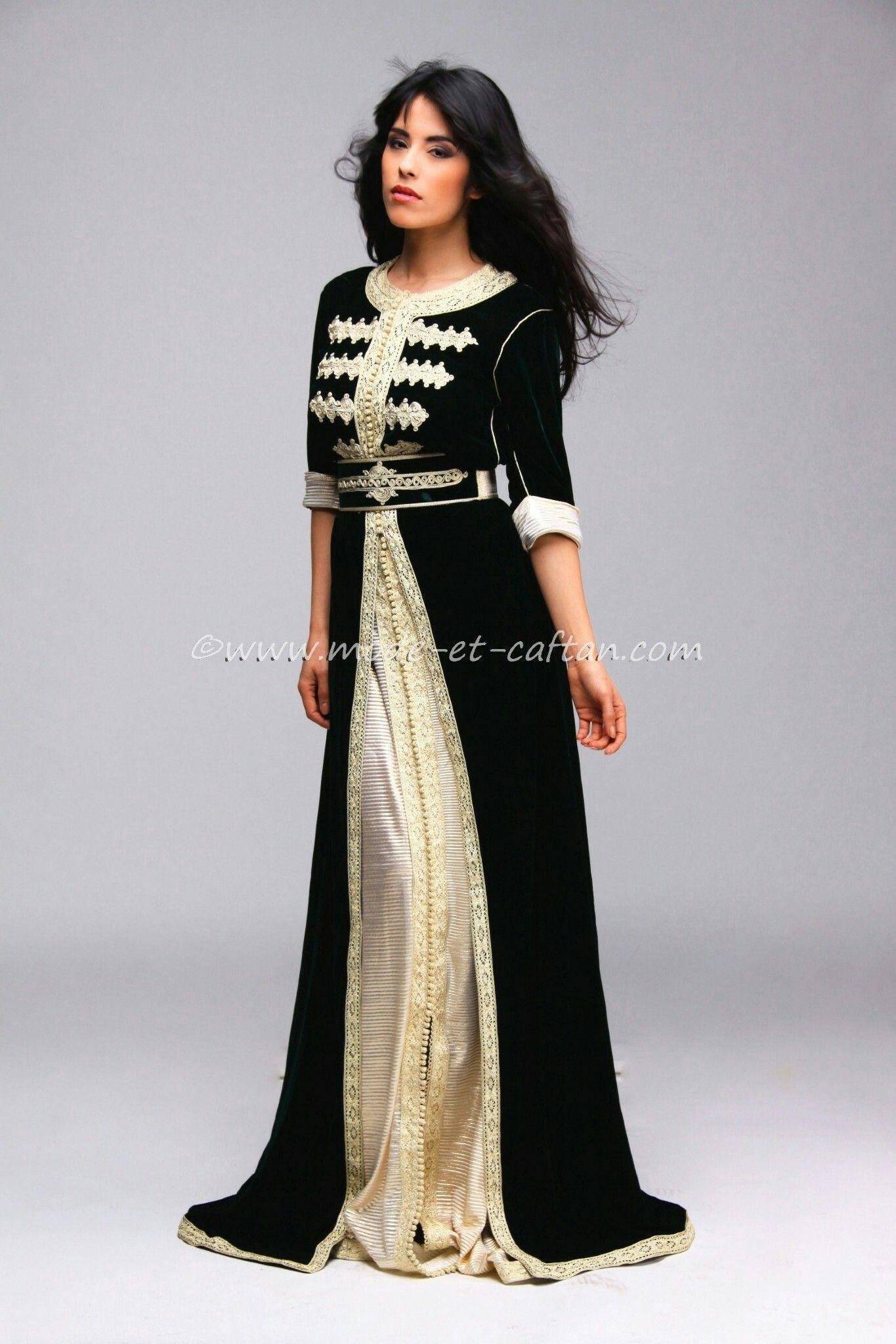 Traditional tunisian wedding dress  Pin by Laucine Laucine on Caftan  Pinterest