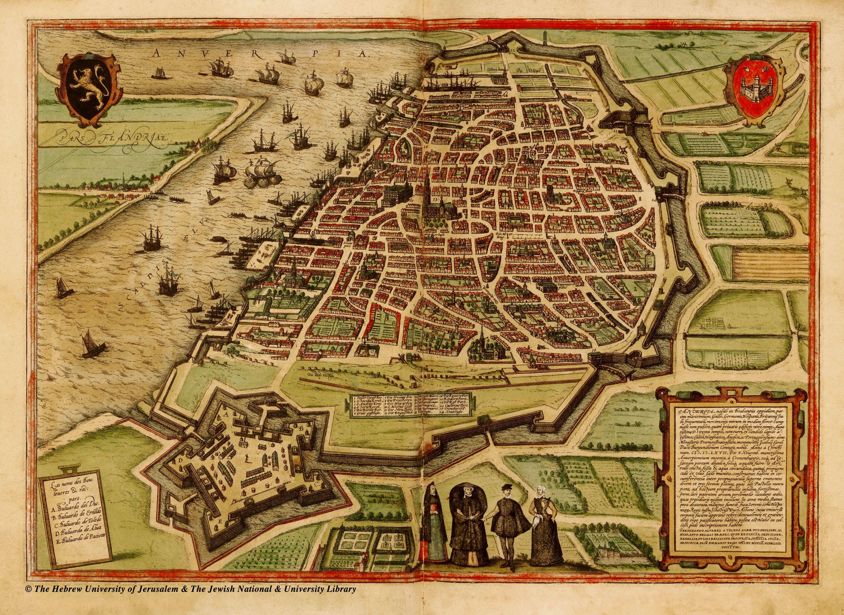 Antwerp, Belgium. 1590