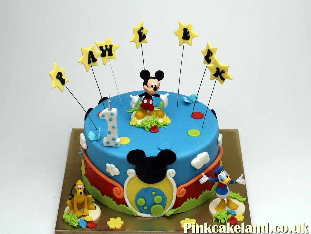 Mickey Mouse Clubhouse Best Birthday Cakes In Maidstone Kent Http