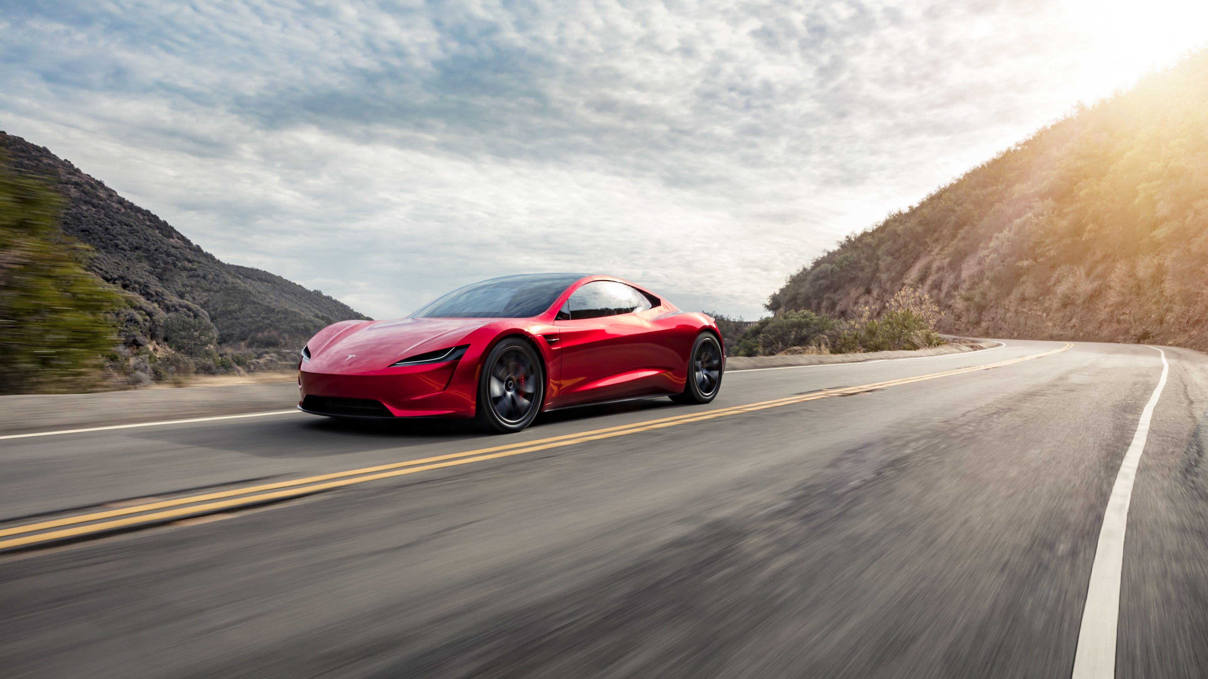 2018 Tesla Roadster Side View 4k Tesla Wallpapers Tesla Roadster Wallpapers Hd Wallpapers Electric Cars Wallpapers 4k Wallpa Tesla Roadster Roadsters Tesla
