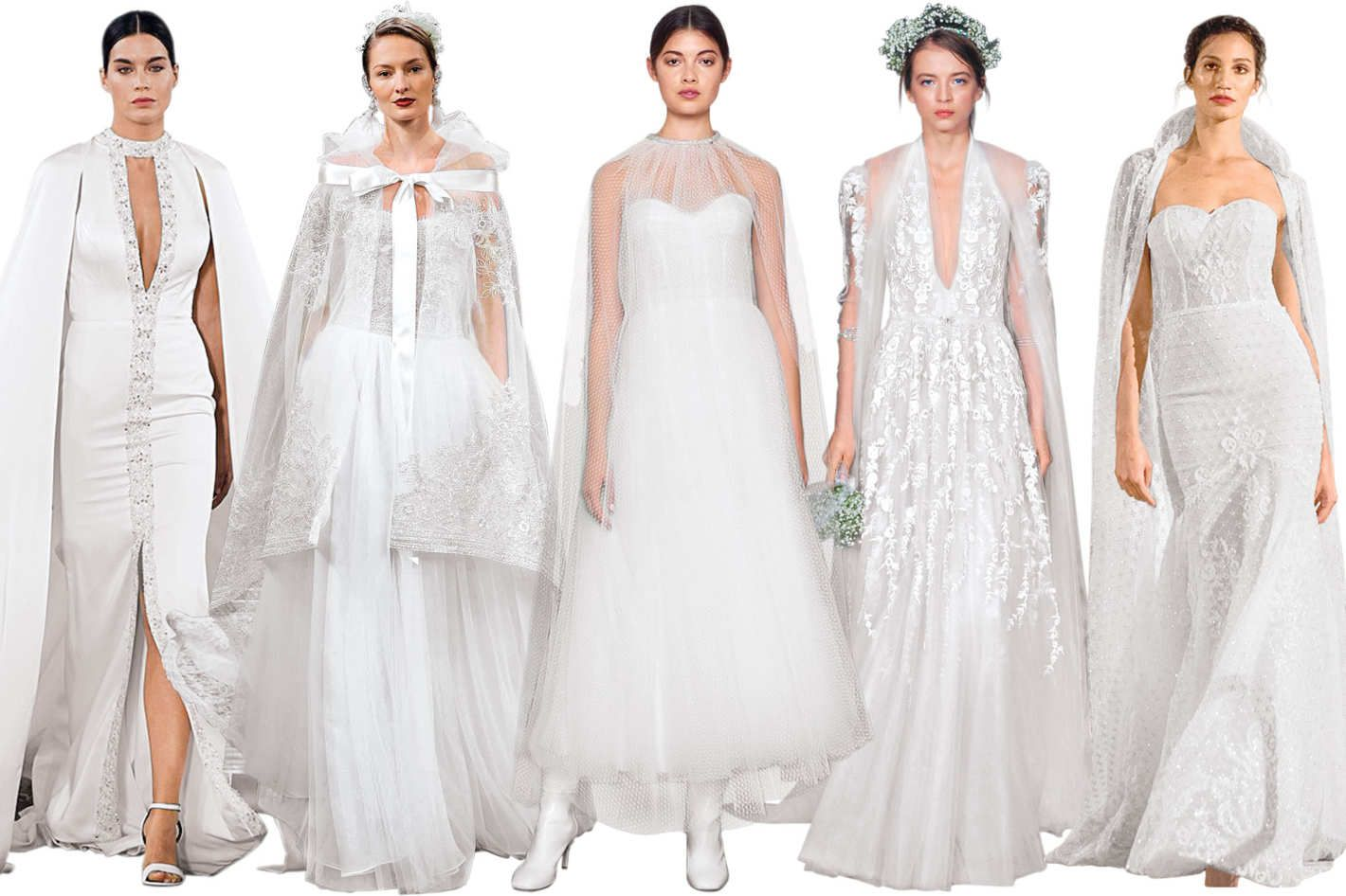 Chicago wedding dress shops   Wedding Gowns That Show Just a Little Extra Skin  Summer wedding