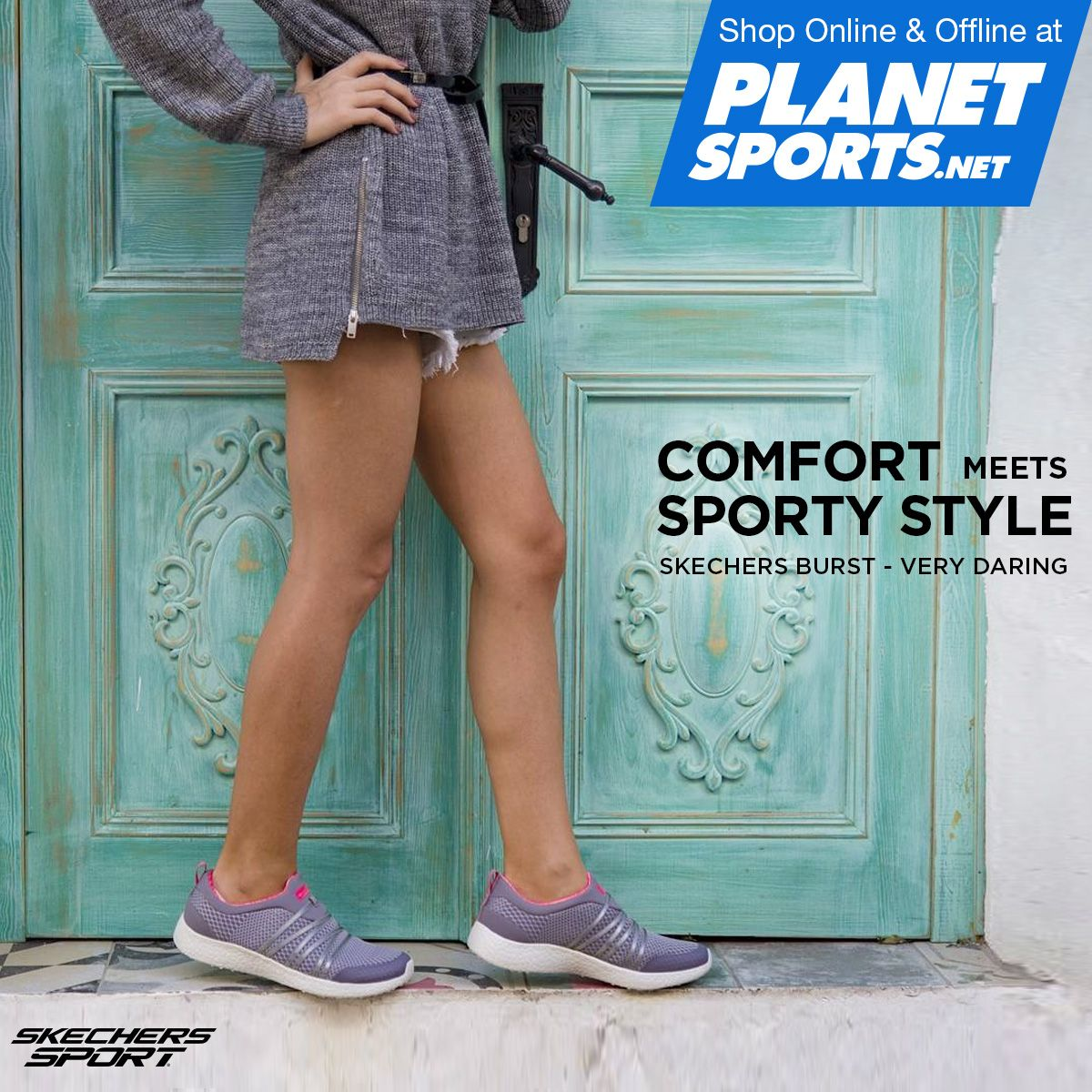 Easy wearing comfort meets sporty style