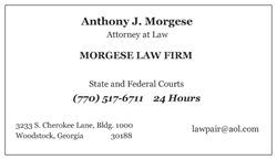 Criminal Attorney Georgia Woodstock Canton Marietta Atlanta