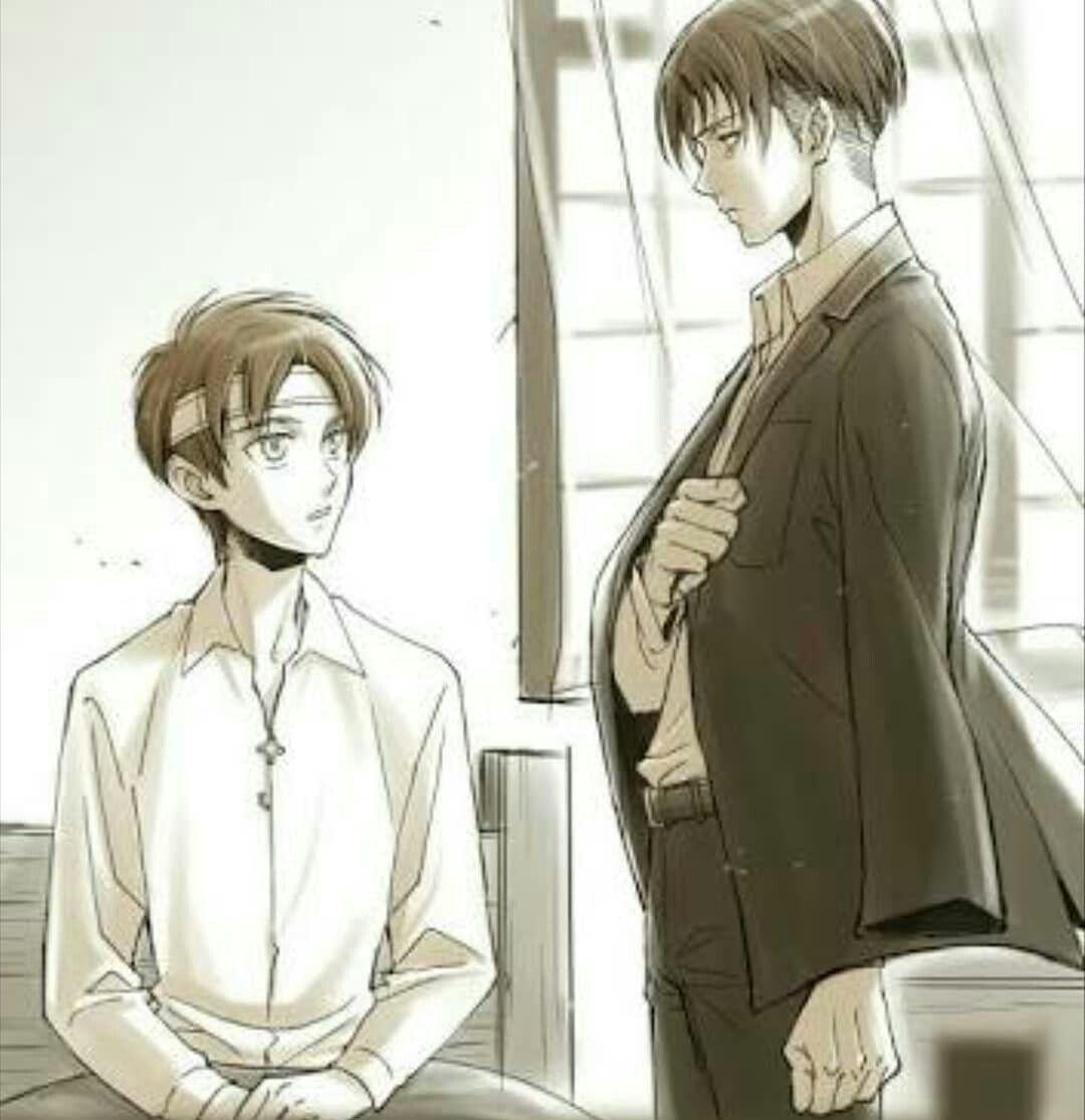 Levi and Eren | injured/sick | SnK | Anime & Manga | Attack