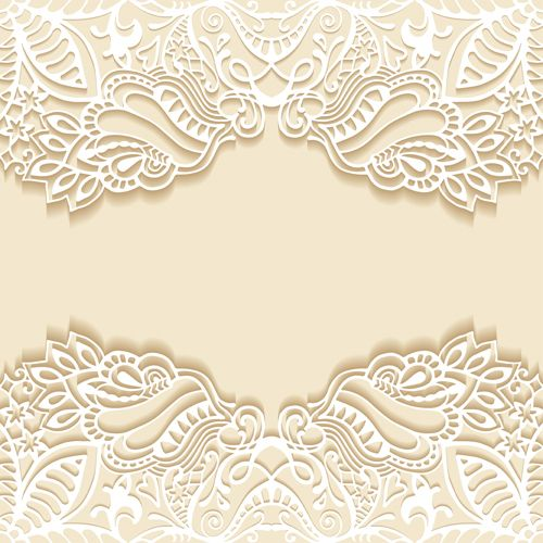 White Lace With Colored Background Vector Set 06 Vector Background Free Download Invitation Background Colorful Backgrounds Paper Background