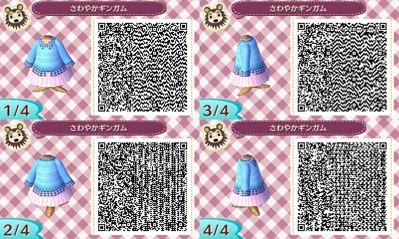 Animal crossing new leaf qr codes spring clothes winter coats christmas also pin by paladin of ice on rh pinterest