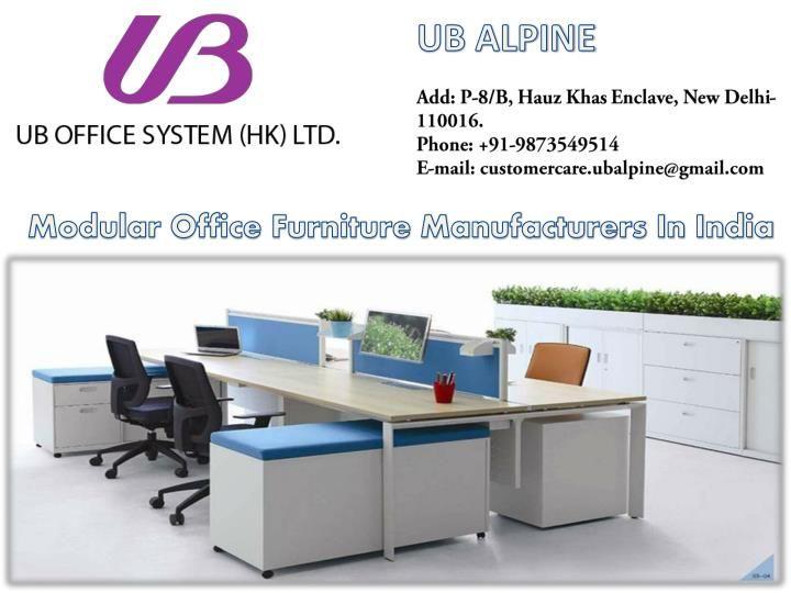 Modular Office Furniture In India Best Manufacturers