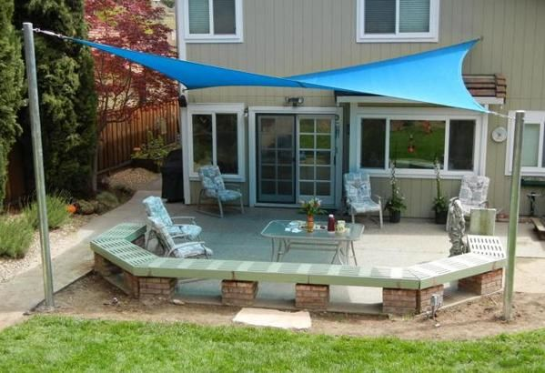 Sun Shade Sail Installation Ideas My Pictures Images Home