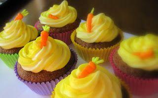 Kakkutaikuri: Porkkana-muffinssit ja tuorejuusto-kuorrute