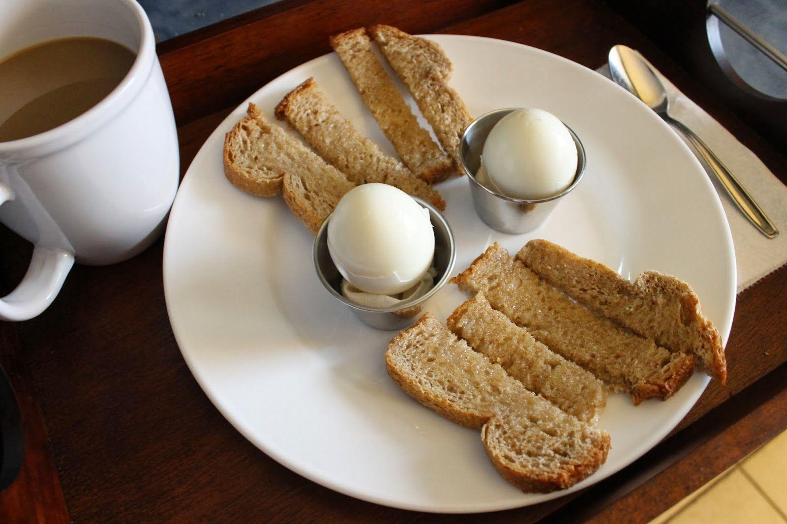 The Simple Treat | Breakfast in bread! Soft boiled eggs