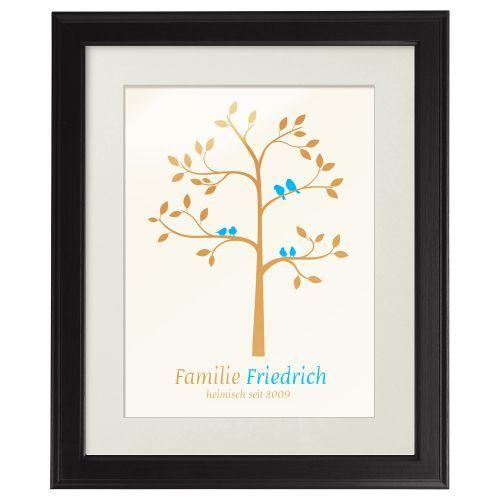 familienbaum personalisiertes bild pinterest familienbaum stammbaum und einfache geschenke. Black Bedroom Furniture Sets. Home Design Ideas