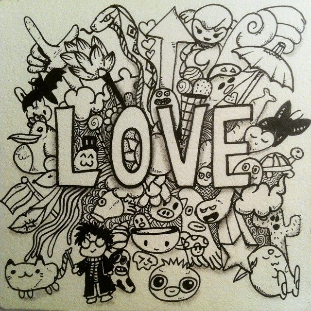 Do What You Love Love What You Do Cool Drawings Coloring