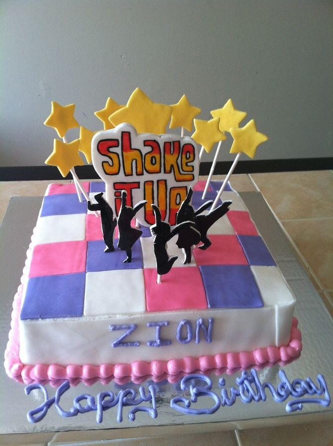 Shake It Up Cake Childrens Birthday Cakes Sweets Pinterest