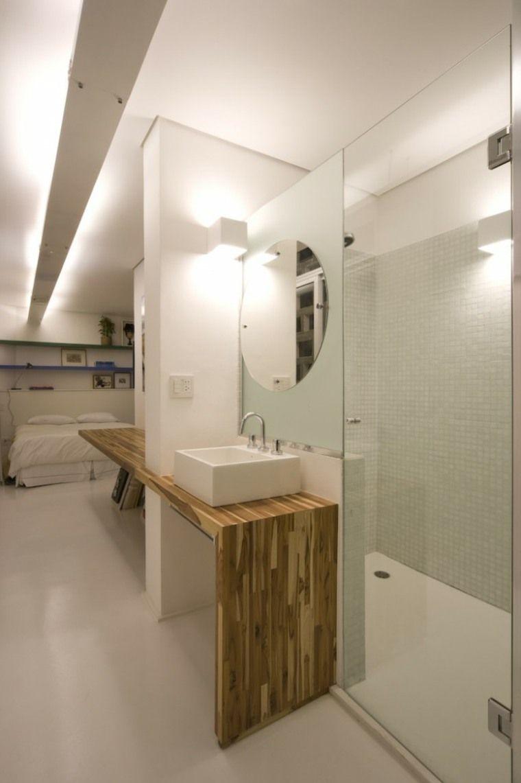 Salle De Bain En Longueur ~ chambre avec salle de bain fusion d espaces harmonieuse longueur