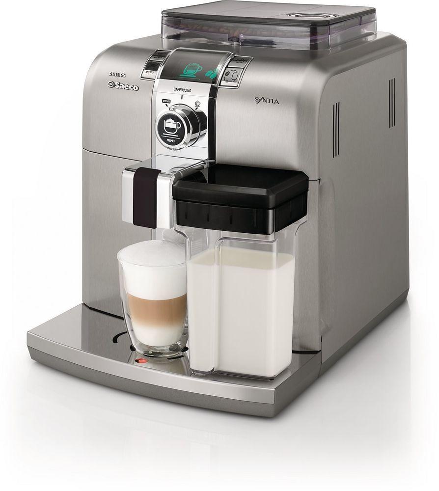 Philips saeco syntia cappuccino superautomatic espresso