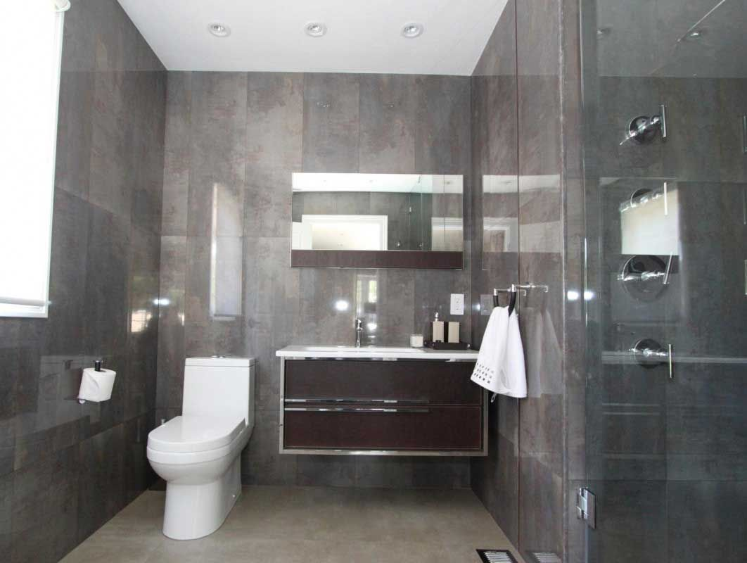 Modern office bathroom interior design bathrooms for Small bathroom interior