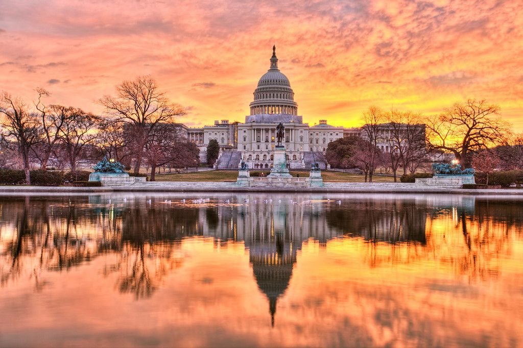 Capitol On Fire Beautiful Places Sunrise Photos Places To Go