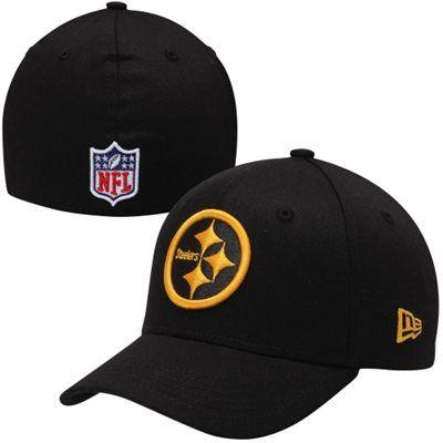 c74f0b9e137 New Era Pittsburgh Steelers Youth Thanksgiving Day 39THIRTY Flex Hat - Black