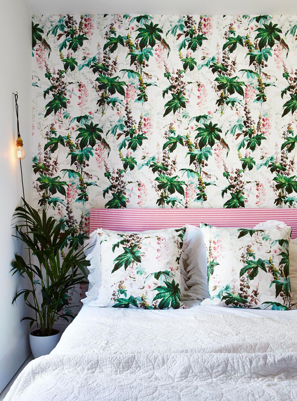 botanical bedroom miami style