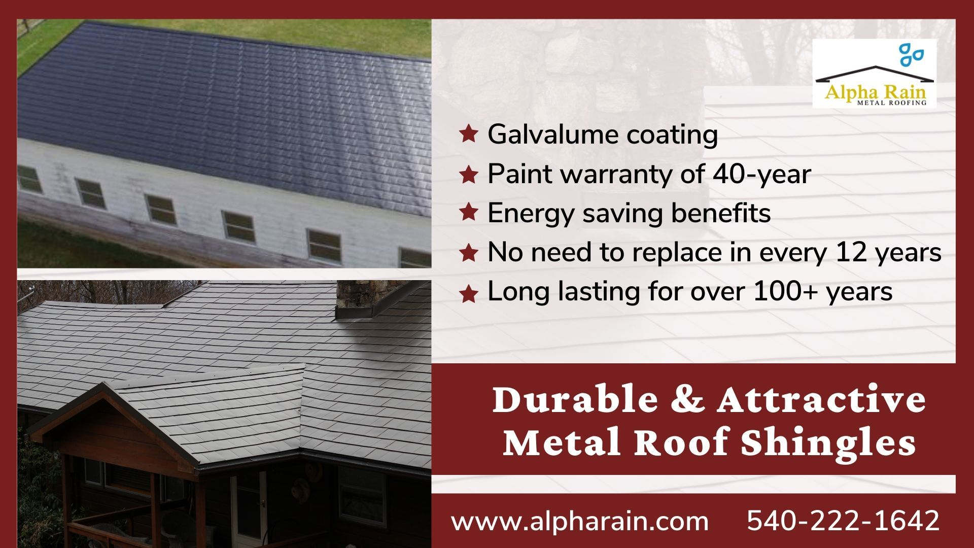 Which Is The Best Metal Roof Shingles Or Asphalt Shingles In 2020 Metal Shingle Roof Metal Shingles Roof Shingles