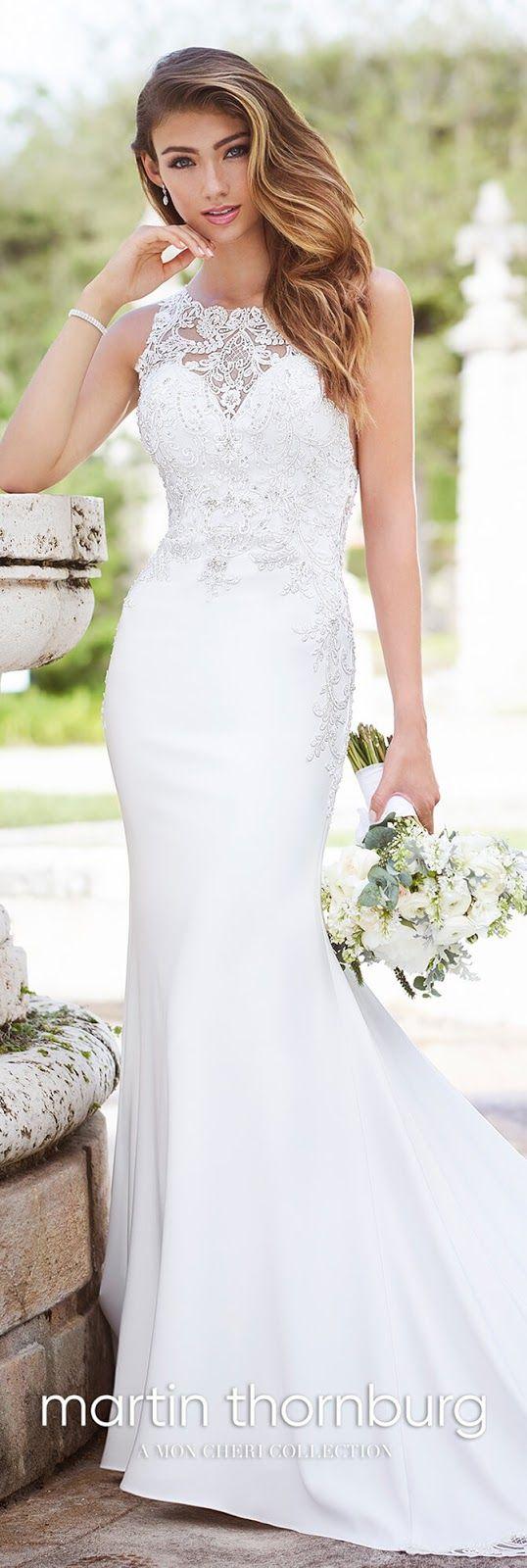 Martin thornburg fall bridal collection mon cheri wedding