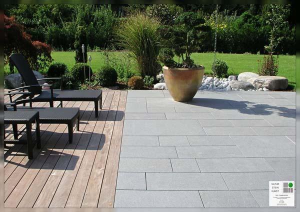 Bildergebnis Für Terrassenholz Und Stein Kombinieren