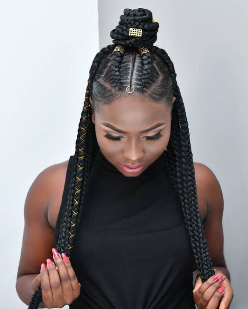 50 Jaw Dropping Braided Hairstyles To Try In 2021 Hair Adviser Braided Hairstyles Hair Styles Kids Braided Hairstyles