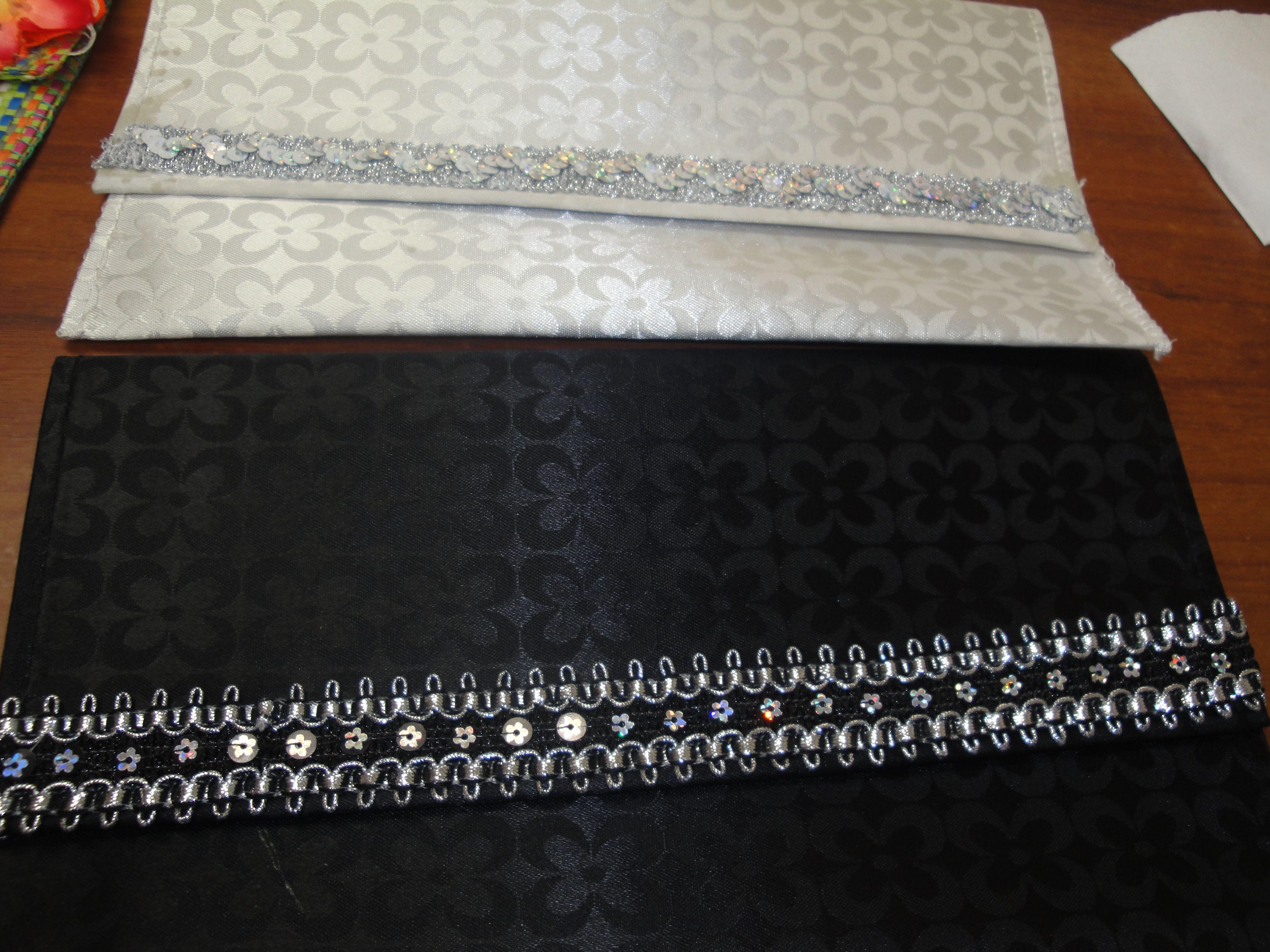 Carteras hechas con individuales de mesa carteras hechas a mano pinterest - Individuales para mesa ...